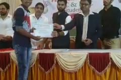 Felicitation of Students